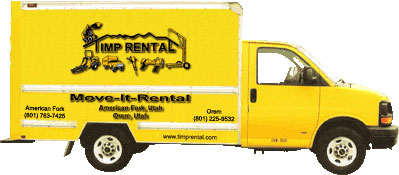 Rent 12 foot moving trucks at Timp Rental