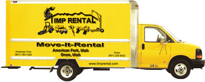 Rent 16 foot moving trucks at Timp Rental Center