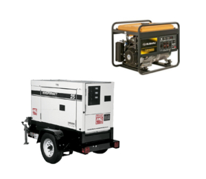 Generator rentals in Provo and Utah County