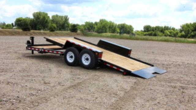 Where to find Trailer, 6 x22  Tow Master Tilt Deck in Provo