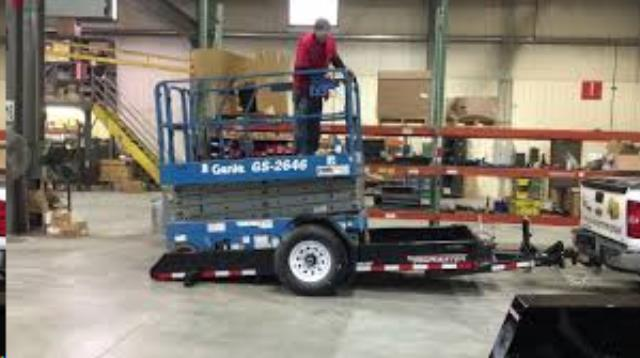 Where to find Trailer, 4 x12  Tow Master Tilt Deck in Provo