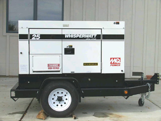 Where to find 25K Tow Behind Generator in Provo