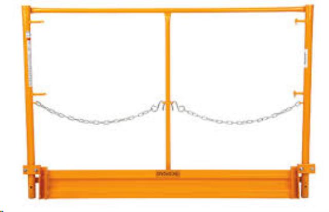 Where to find Scaffold Safety Rails  4pc Set in Provo