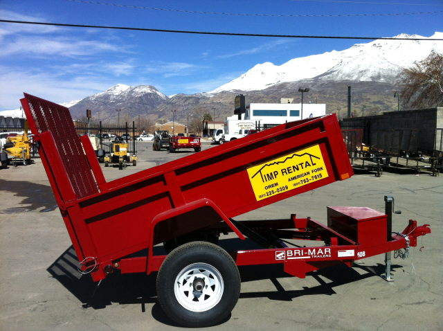 Where to find Trailer, Dump 5 x8   2,240lbs in Provo