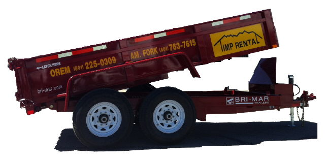 Where to find Trailer, Dump 6 x12   7,000lbs  Red in Provo